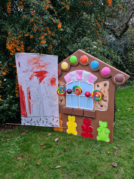 A Forest of Imagination for Hansel and Gretel