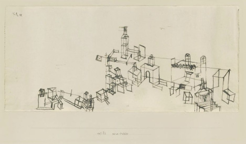View of ancient city Paul Klee